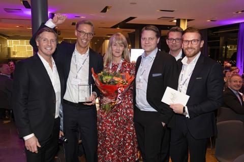 Schneider Electric vinnare av Elektroskandias utmärkelse – Årets leverantör 2019