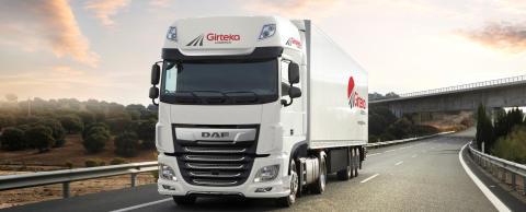 500 DAF XF-lastbilar till Girteka Logistics