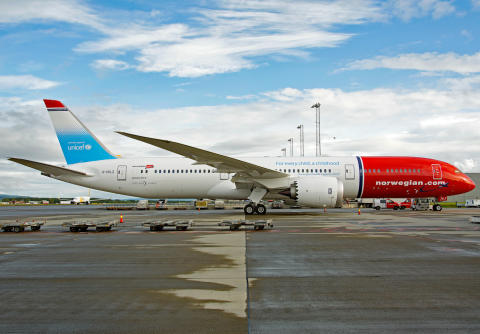 Norwegian og UNICEFs fjerde nødhjelpfly på vei til Djibouti