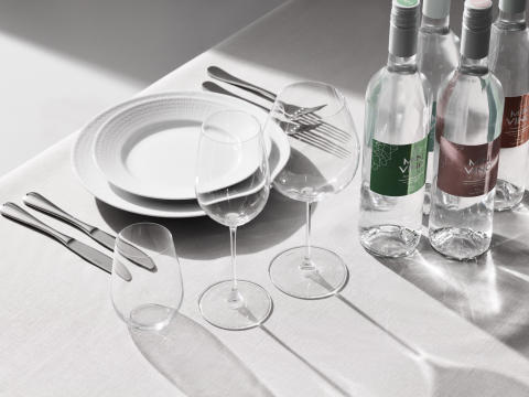 Minvino water for wine Table All