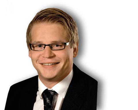 Christoffer Carlsson, ny säljare på Stockholmskontoret