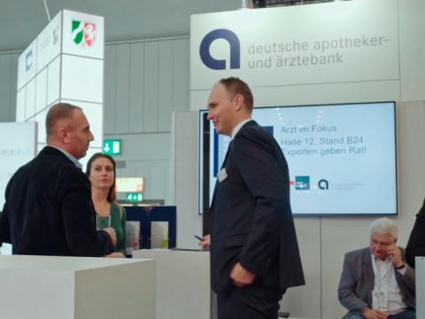Die apoBank auf der Medica 2017