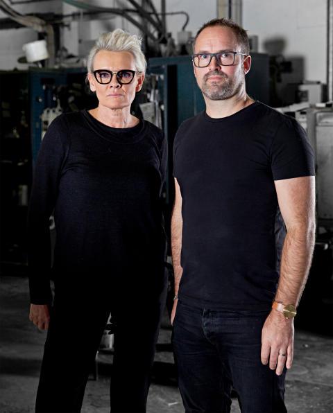 Eva Dahlgren och Alexander Lervik