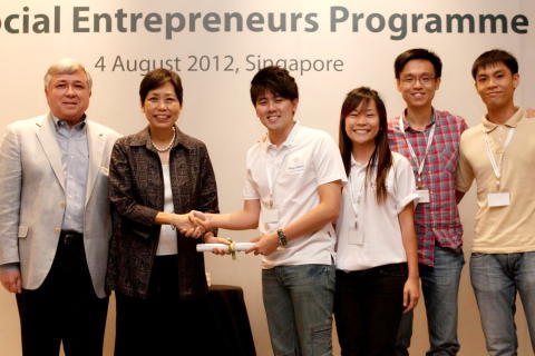 BagoSphere awarded a grant from SIF's Young Social Entrepreneurs (YSE) program