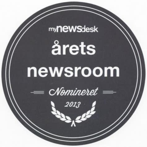 Dækbranchens Fællesråds newsroom nomineret