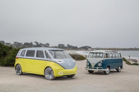 Volkswagen bekräftar: Folkabussen blir eldriven – baseras på konceptbilen I.D. BUZZ