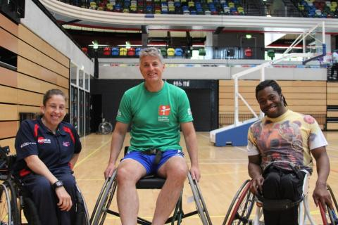 SportsAid supporters treated to 'epic' wheelchair basketball tournament at Copper Box