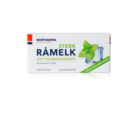 Biopharma Råmelk Sterk