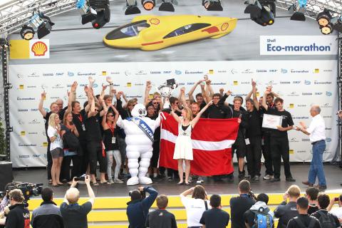 Danske ingeniørstuderende på vej mod Shell Eco-marathon 2012