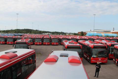 Arriva laddar inför trafikstart i Stockholm