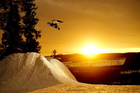 Snowboard & Freeskiing SM i Kläppen