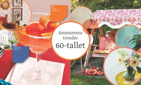 Fargerike, Sommerens Trender - 60-tallet