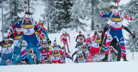 Skiskytterne avslutter sesongen med NM