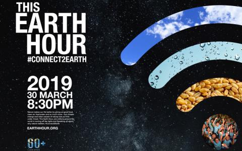 Earth Hour – we switch off the lights for climate action