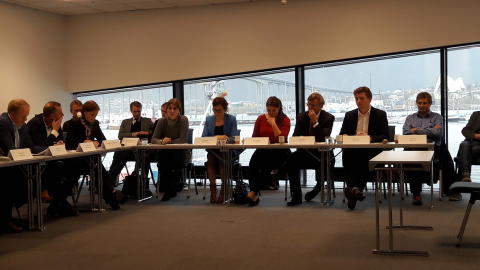Arctic Frontiers hosts dialogue meeting with State Secretaries Røsland and Ellingsen