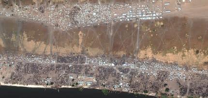 Sydsudan: Regeringsstyrkor har fördrivit tiotusentals civila