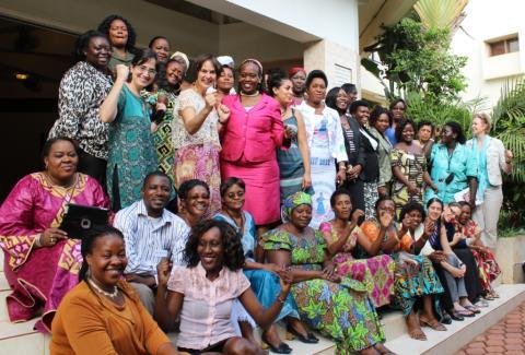 Lyckat möte i Uganda mellan kvinnliga aktivister och politiker i sex afrikanska länder
