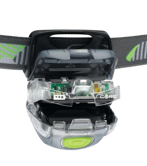 Petzl CORE - nytt uppladdningsbart batteri för Petzl pannlampor