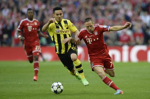Bayern München tar sig an Dortmund i tyska Supercupen