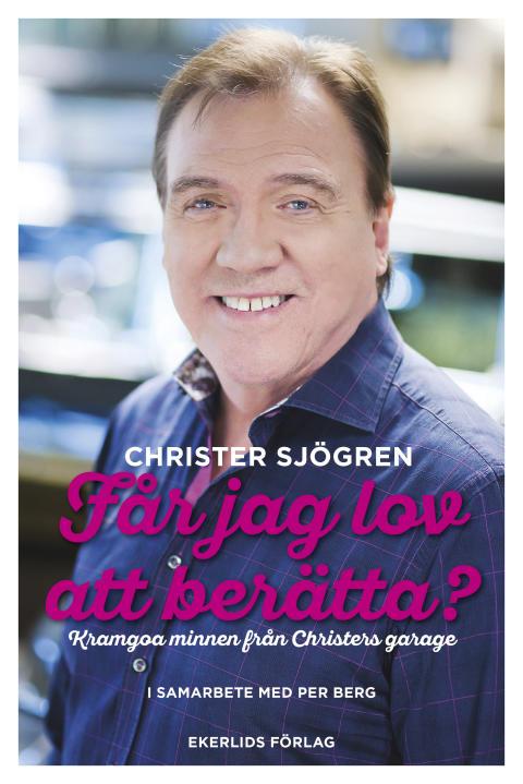 Omslag till boken Får jag lov att berätta av Christer Sjögren