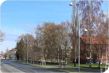 Nytt styrsystem för belysning sparar pengar åt Umeå kommun