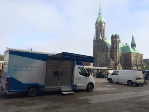 Beratungsmobil der Unabhängigen Patientenberatung kommt am 8. März nach Mönchengladbach (Rheydt).