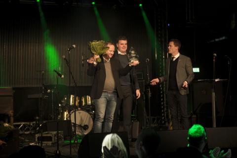 """MECA vinnare av Hammarby Fotbolls pris """"Årets aktivering"""""""