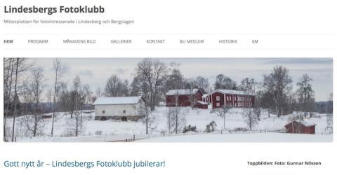 Lindesbergs Fotoklubb firar 70-årsjubileum