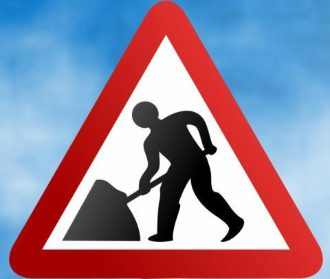 Overnight roadworks at roundabout Friday 24th November 2017