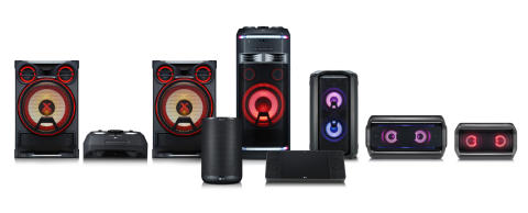 LG Electronics presenterar utökat utbud av ljudprodukter i XBOOM-serien på IFA 2018