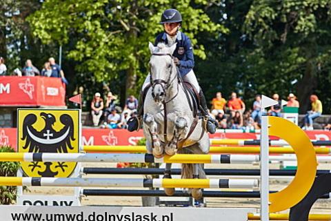 Nu håller vi på de svenska färgerna, Ponny EM i Strzegom