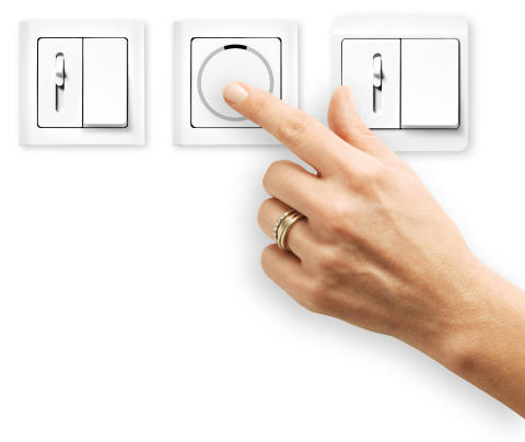 Tre nye LED-lysdæmpere i klassisk design