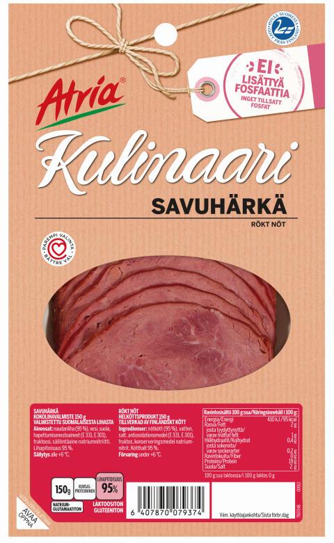 Atria Kulinaari Savuhärkä 150g