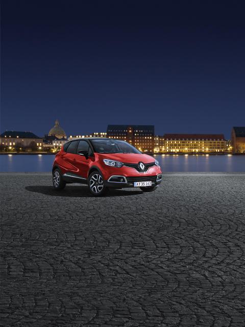 Lækker Captur er stjernen ved Renaults Nytårs Galla