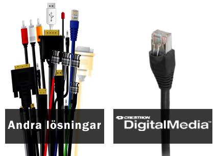 Analoga och digitala signaler i ett och samma unika system