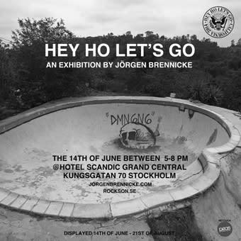 """Vernissage """"Hey Ho Let's Go"""" av Jörgen Brennicke"""