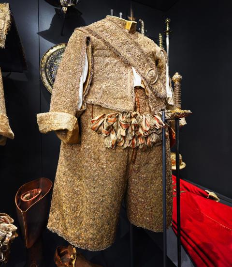 Karl den X:s guldbroderade dräkt