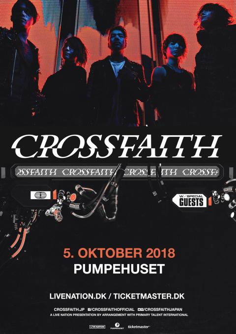 Det japanske hardcore-/ heavy metal-band Crossfaith kommer til Pumpehuset fredag 5. oktober