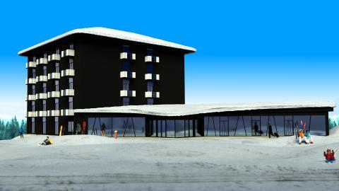 Bergshotellet - Järvsö första ski-in ski-outhotell