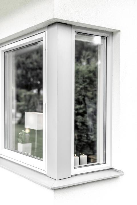 Elitfönster Original Alu - fastkarm och vrid utsida