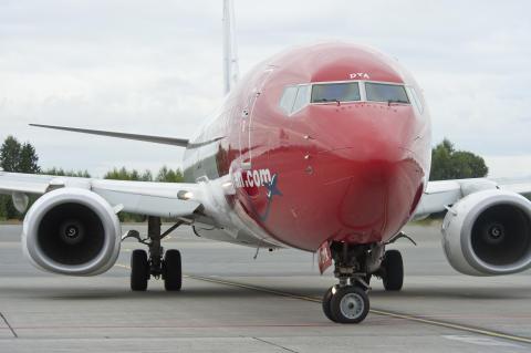 Norwegian startar direktlinje från Umeå till Alicante