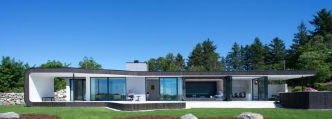 Farstad Glass & Aluminium AS vant «Årets bolig 2015»