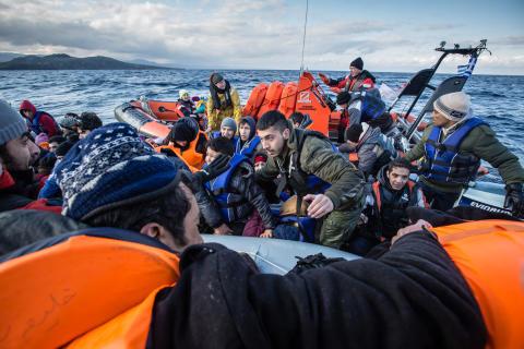 """Rapport: """"Flyktingkris ett bottennapp i EU:s historia"""""""