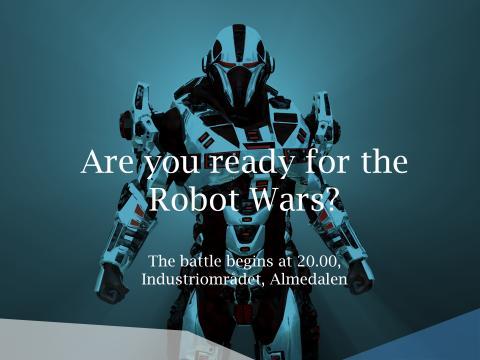 Robotkampen i Almedalen