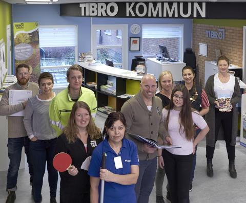 En majoritet av Tibro kommuns anställda trivs och är nöjda med chefer och arbetsklimat