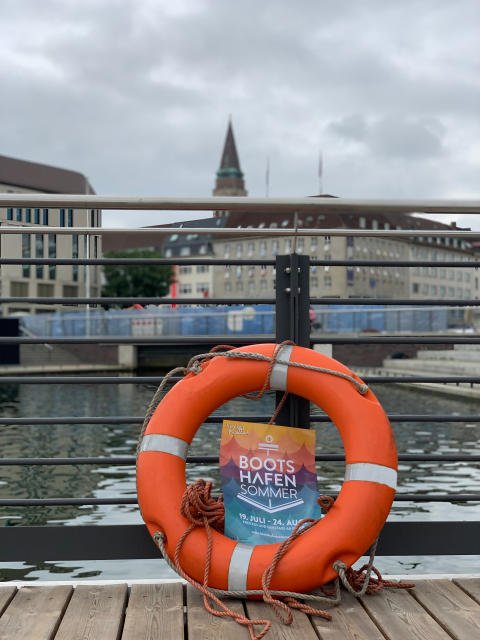 Maritimer Kieler Bootshafensommer Fr. und Sa. 19. Juli - 24. August 2019