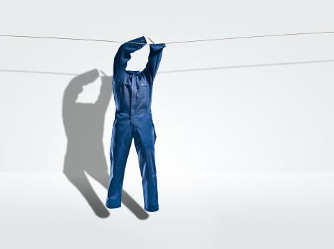 Riskfyllt att tvätta arbetskläder hemma