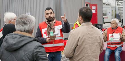 Frivilliga stöttade samhället under flyktingsituationen