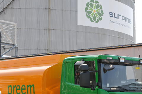 SunPine ökar produktion av förnybara drivmedel i Piteå