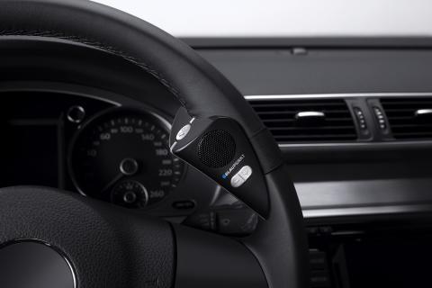 BT Drive Free 411 är en portabel blåtandshandsfree från Blaupunkt